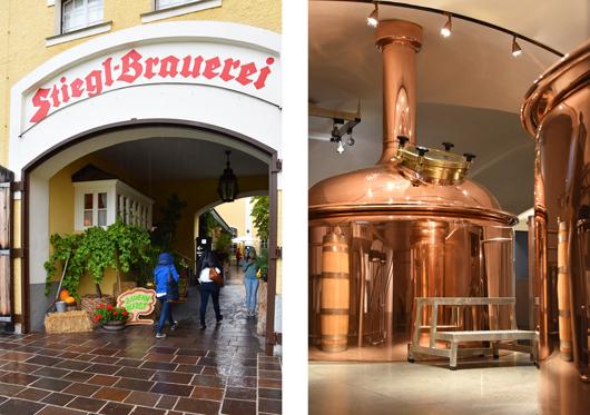 Stiegl Brauerei in Salzburg