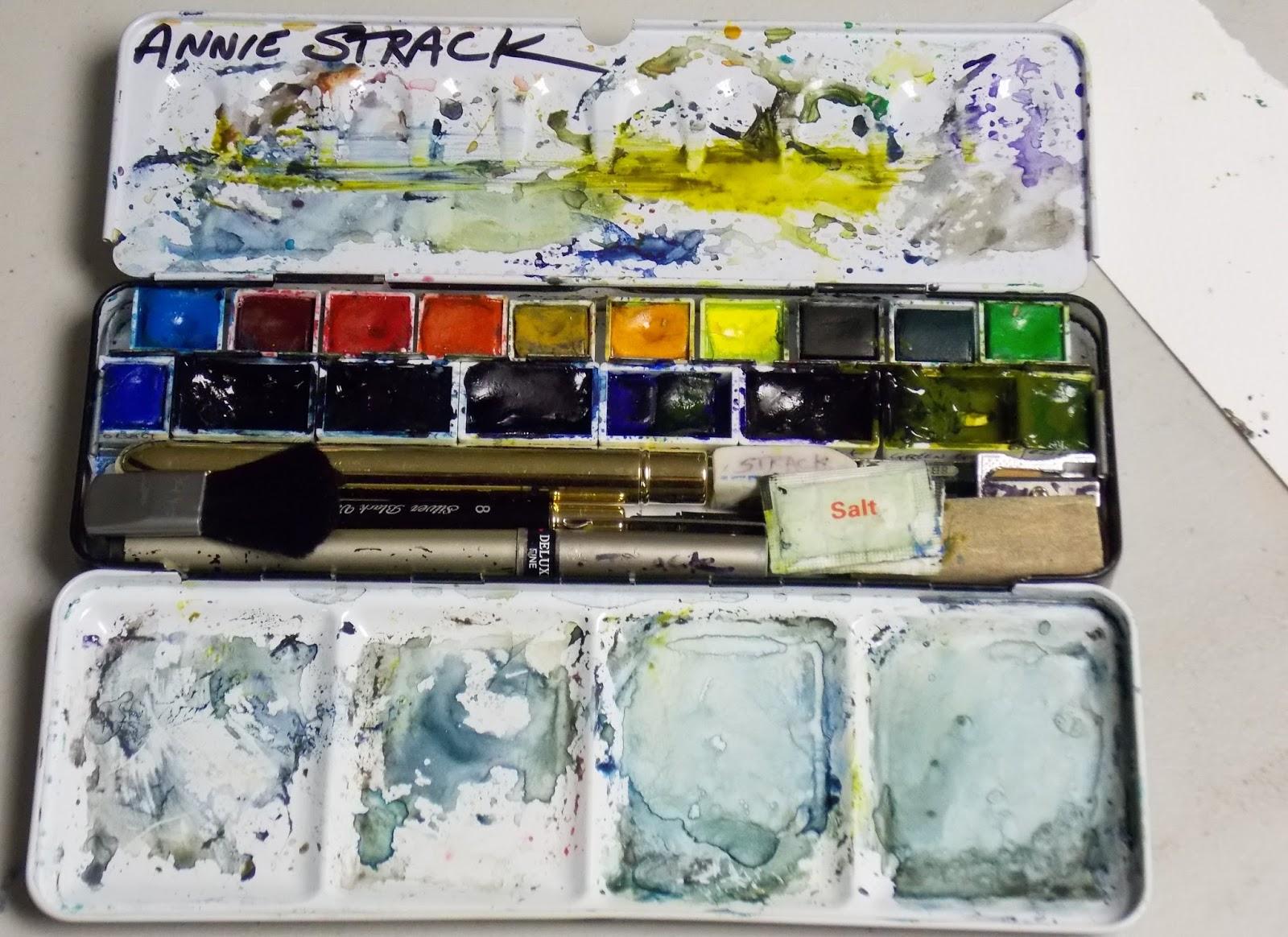 annie strack news plein air essentials for watercolor painters