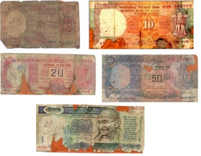 soiled-mutilated-imperfect-banknotes