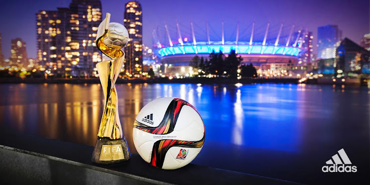 4df9035f22e7a Adidas Conext 15 Vancouver - 2015 Women's World Cup Final Ball Released - Footy  Headlines