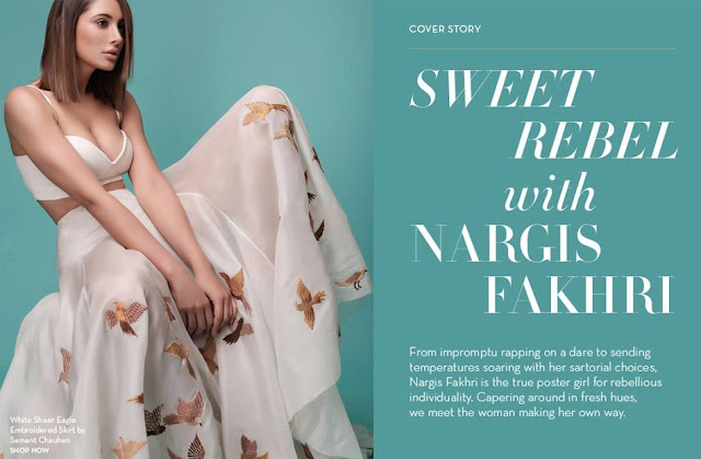 Nargis Fakhri's Fresh Fashion Magazine Photoshoot