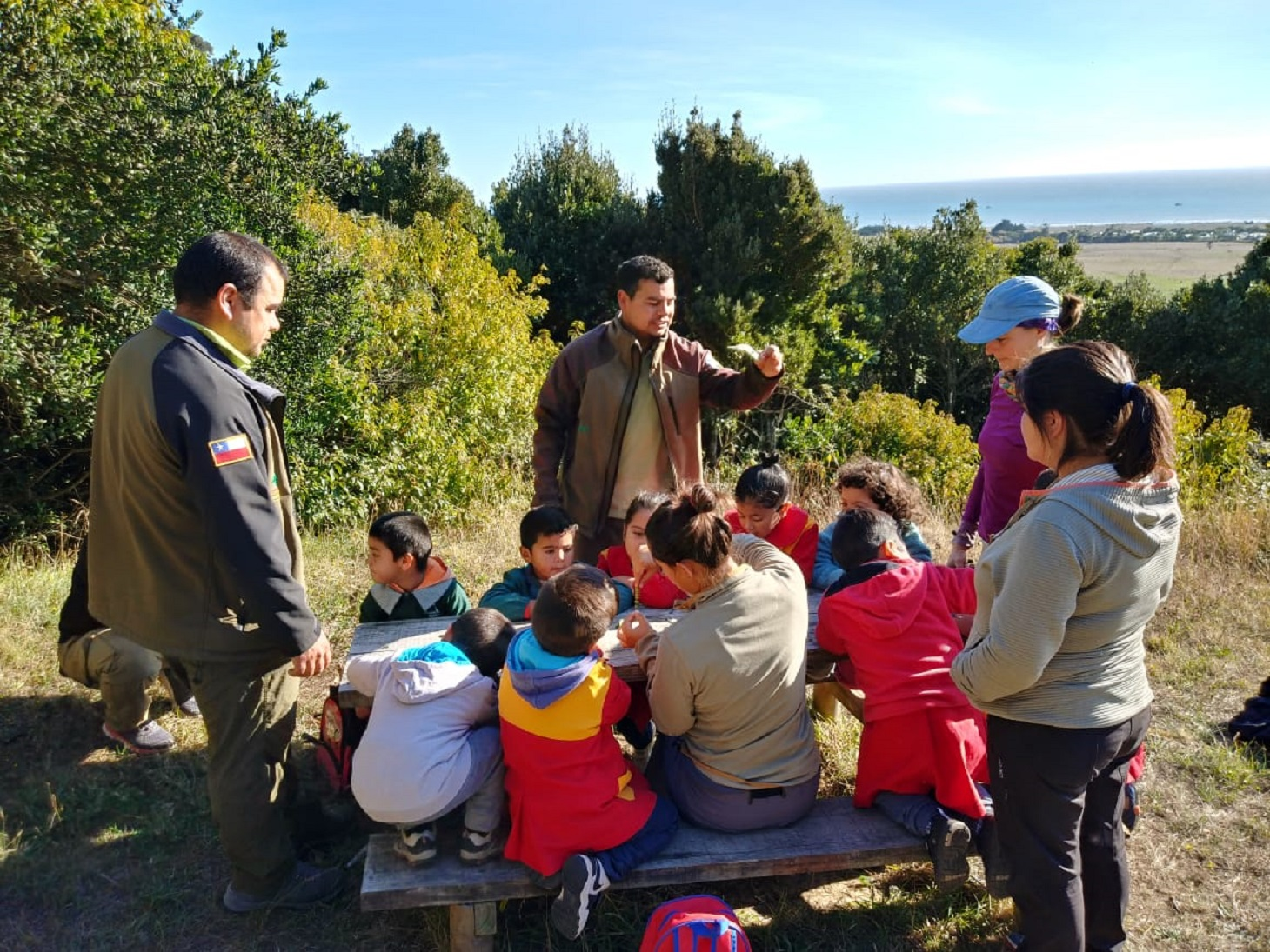 Jardín infantil de Isla Mocha cuenta con nueva zona de juegos ...