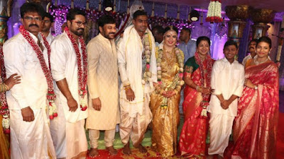 Actress Radhika Sarathkumar daughter Wedding Stills