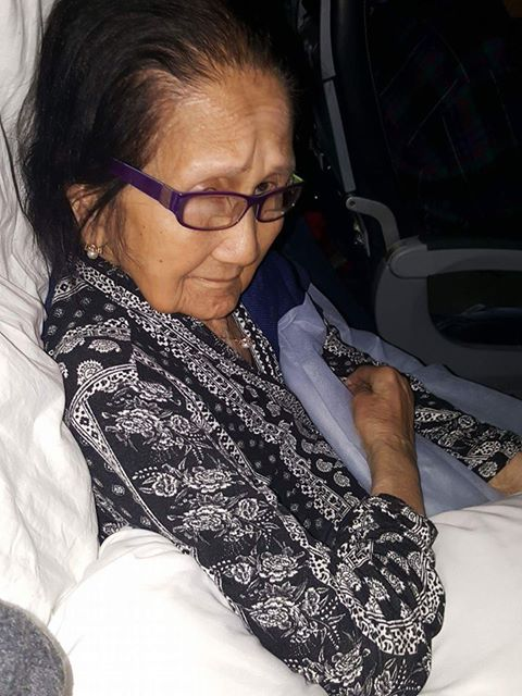 Airline illegally transfers 94-year-old disable Pinay grandma from business class to economy