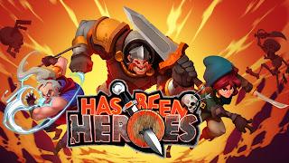 Has Been Heroes, irəliləməli bir aksiyon və strategiya oyunudur.