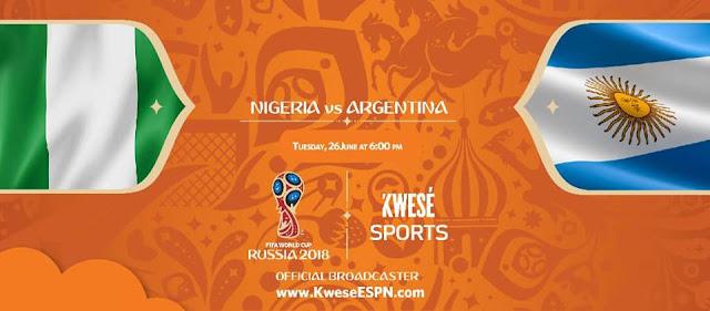 ARGENTINA VS NIGERIA LIVE STREAM WORLD CUP 27 JUNE 2018
