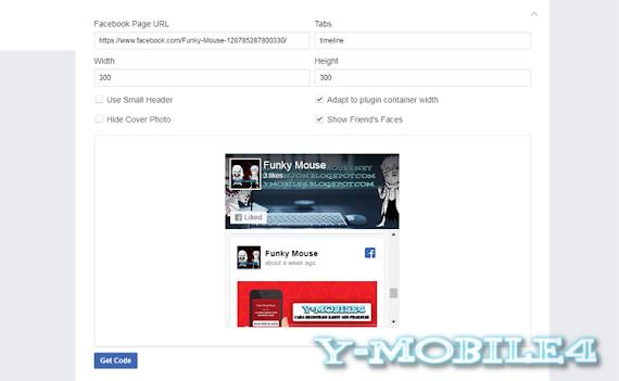 Membuat Fans Page Di Blogspot