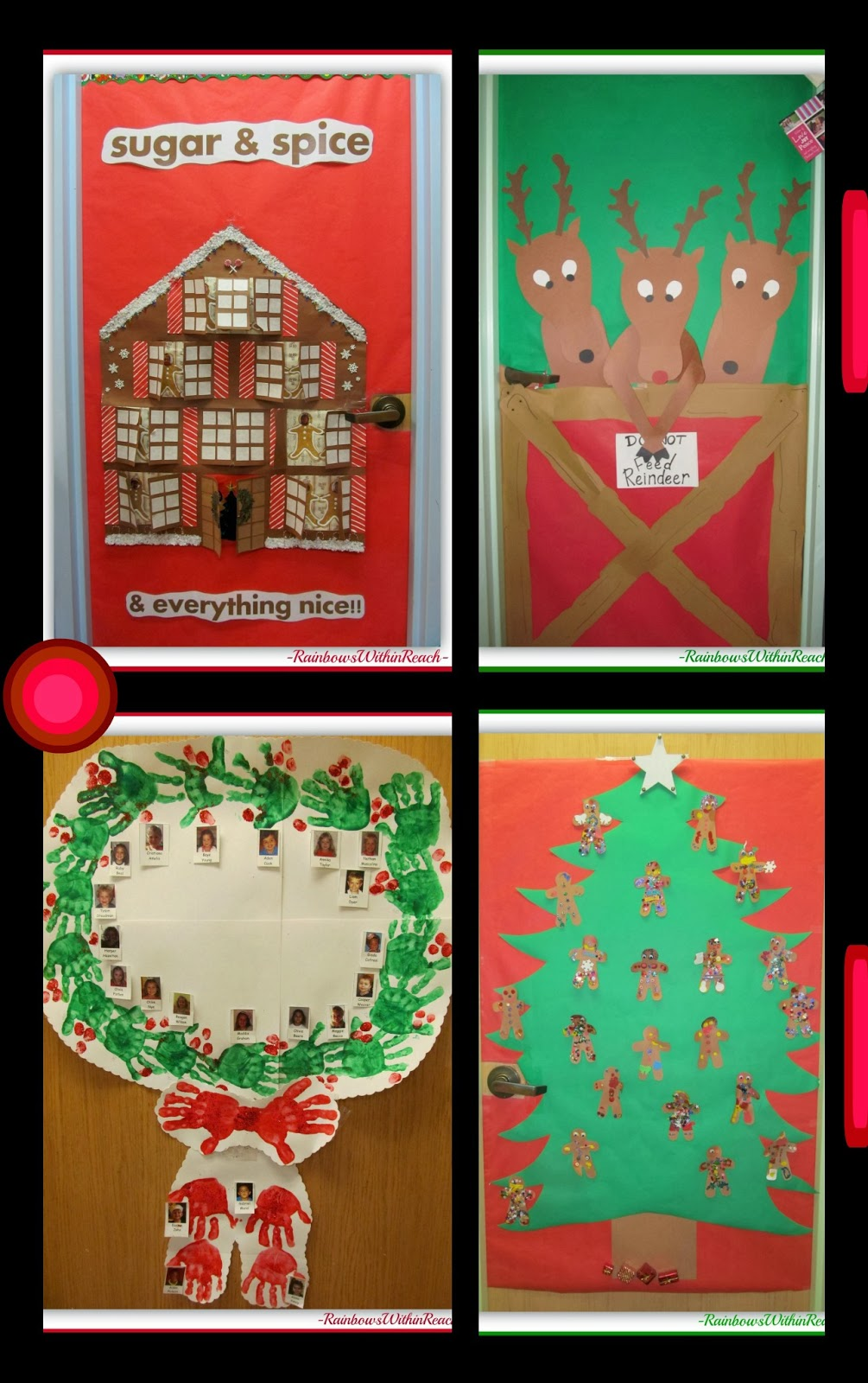 RainbowsWithinReach: Christmas Bulletin Boards and
