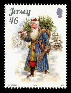 Jersey - Mail Stamps - Navidad 2014