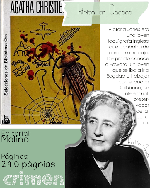 Intriga en Bagdad - Agatha Christie