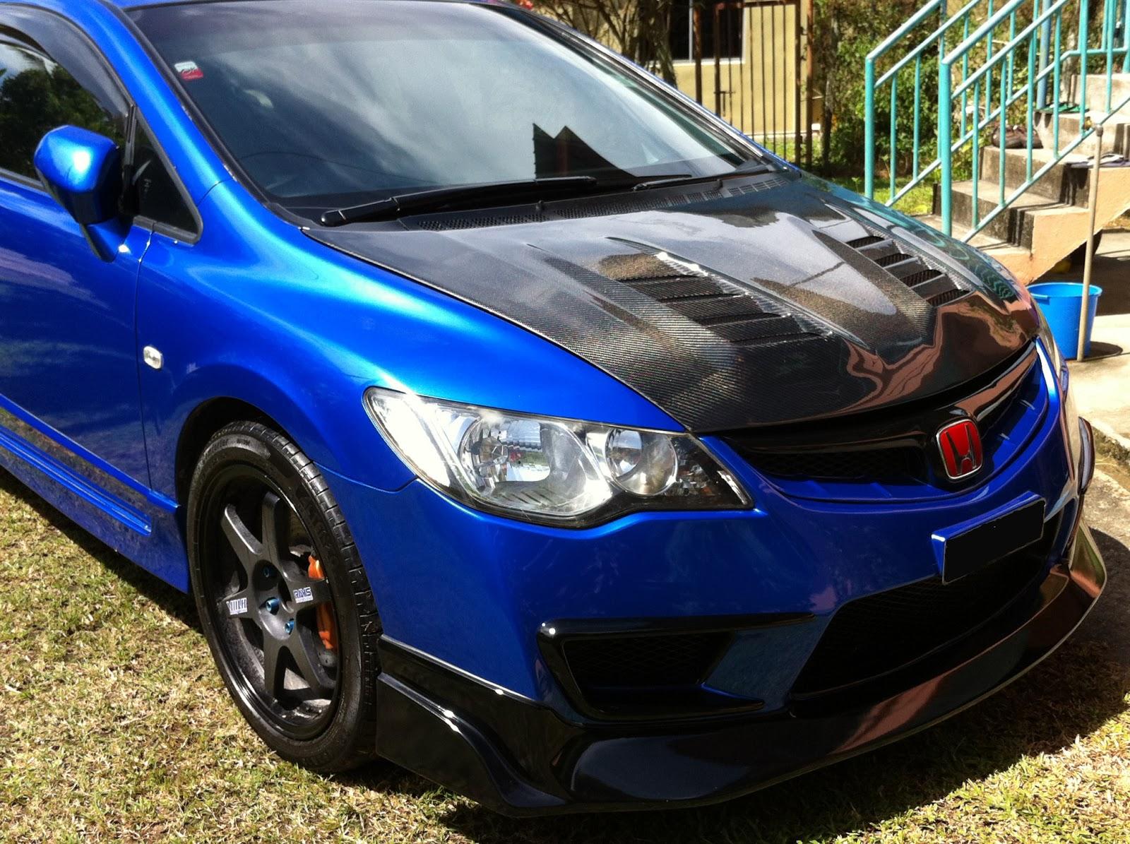 Car Rides: Honda Civic FD Blue J's Racing from Sabah ...