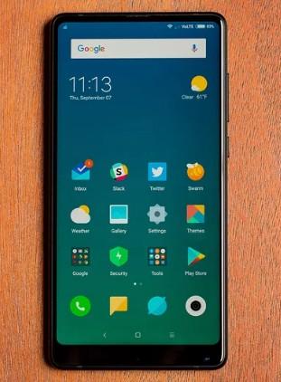 Xiaomi's Mi Mix 2