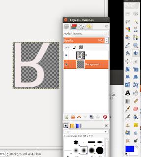 Membuat textdi GIMP