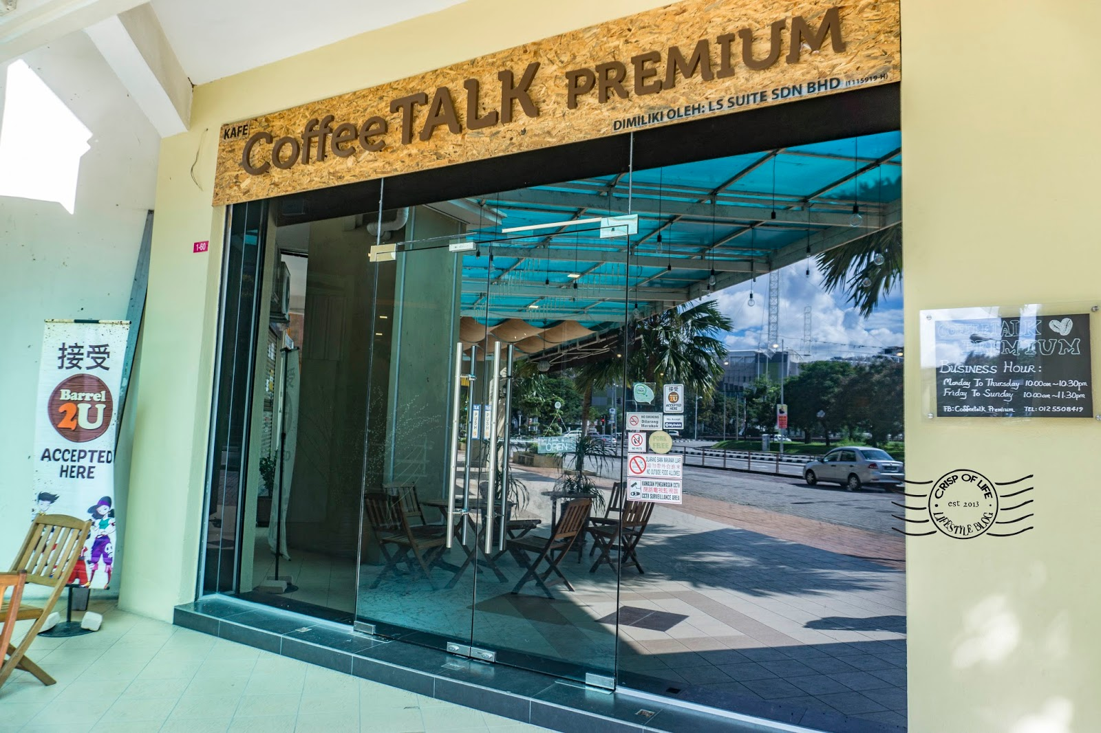 Cafe in Penang Coffe Talk Premium D'Piazza Mall Bayan Baru