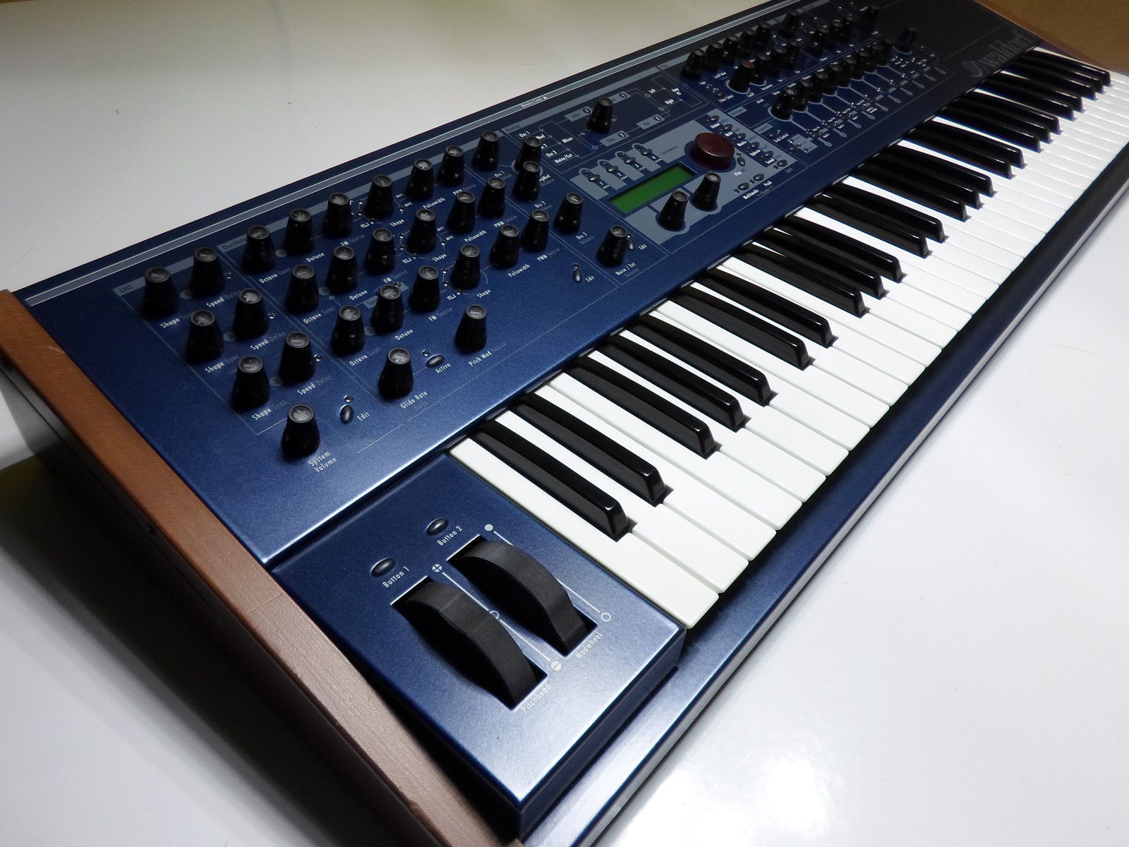 MATRIXSYNTH: Waldorf Q Virtual Analog Synthesizer Keyboard with Wood