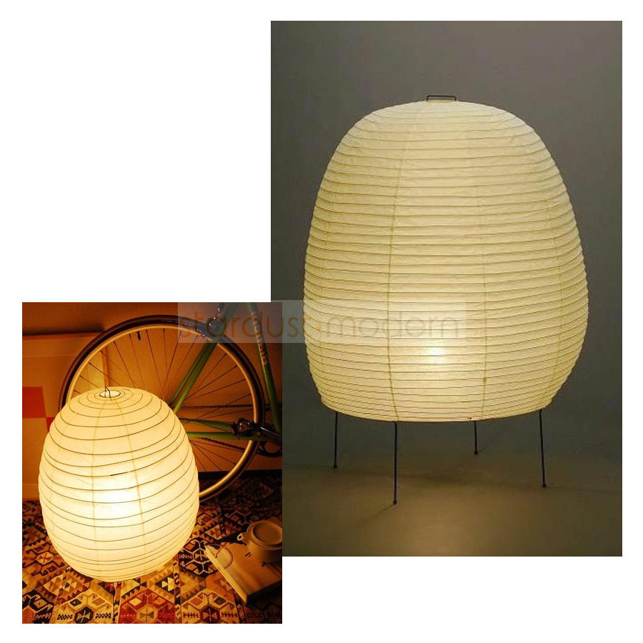 Japanese 20n Isamu Noguchi Ozeki Paper Lantern Table Lamp From Japan