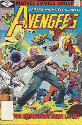 Avengers #183, the Absorbing Man