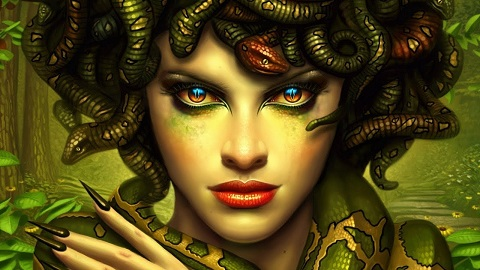 Yunan Mitolojisinden Efsanevi Yaratık Medusa