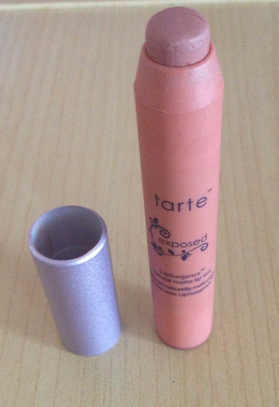 Tarte LipSurgence Natural Matte Lip Tint In Exposed