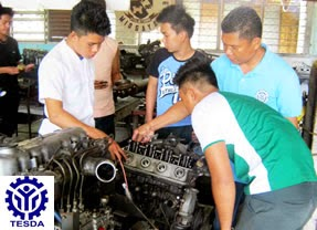 List of TESDA Accredited Assessment Centers for Automotive Servicing NC I, II, III, IV