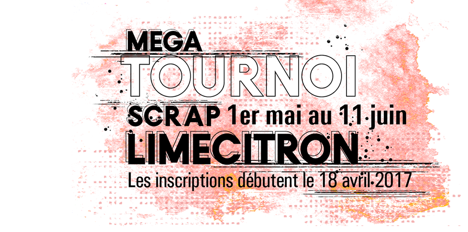 Tournoi Scrap Lime Citron