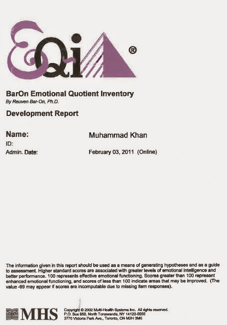 what does emotional quotient mean