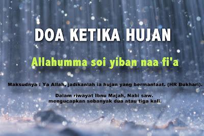 Doa Ketika Hujan - TamanSyurga
