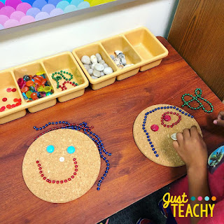 Loose Parts are a great way to increase a child's creativity through open-ended play. www.justteachy.com