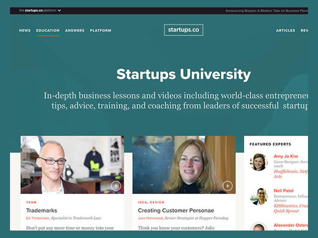 Startups.co University Discount coupon for Lifetime Subscription