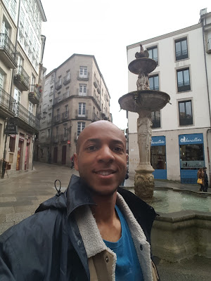 In Ourense is the original fountain from the monastery