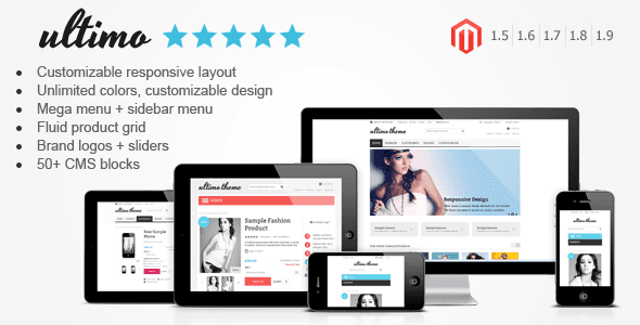 Free Download Ultimo - Fluid Responsive Magento Theme