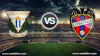 مشاهدة مباراة ليفانتي وليجانيس Levante vs CD Leganes بث مباشر بتاريخ 19-12-2017 الدوري الإسباني