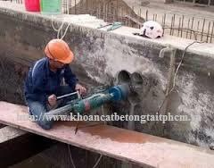 khoan cắt bê tông tại huyện Trảng Bom