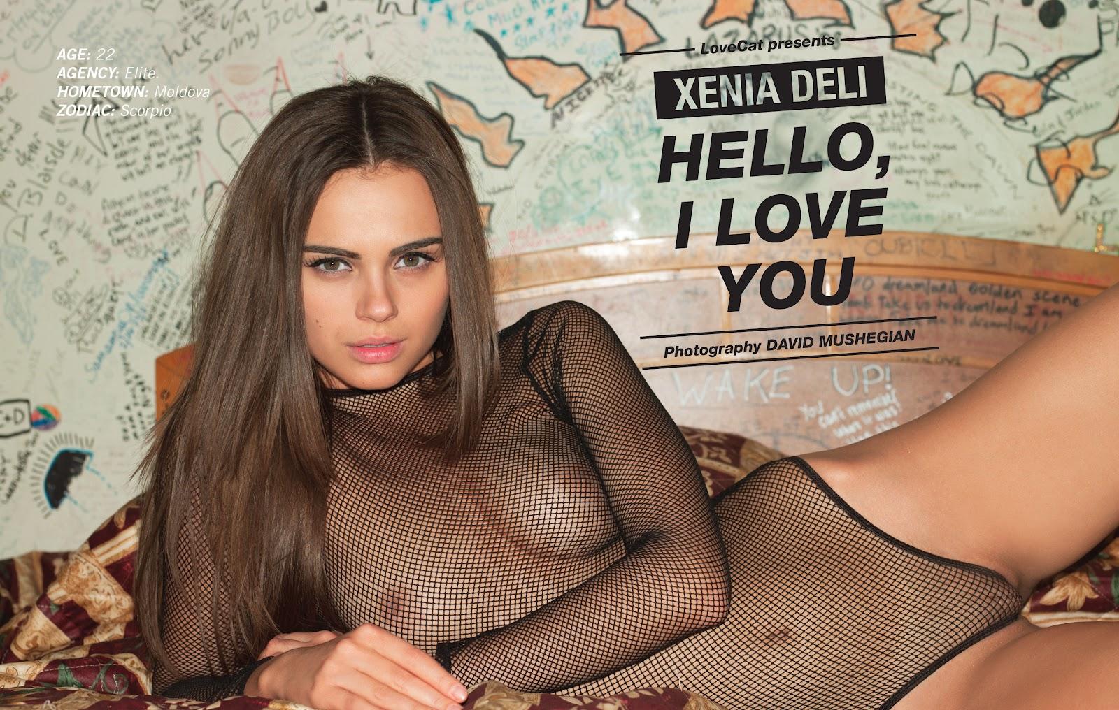 braless Sex Xenia Deli naked photo 2017