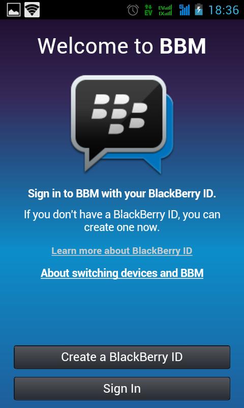 BBM di Android