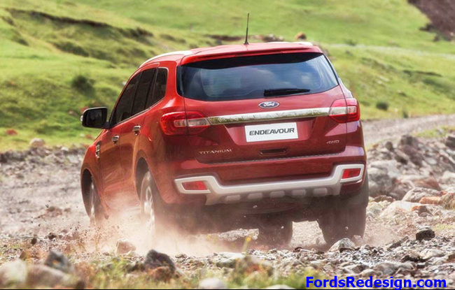 2017 Ford Endeavour Release Date in India