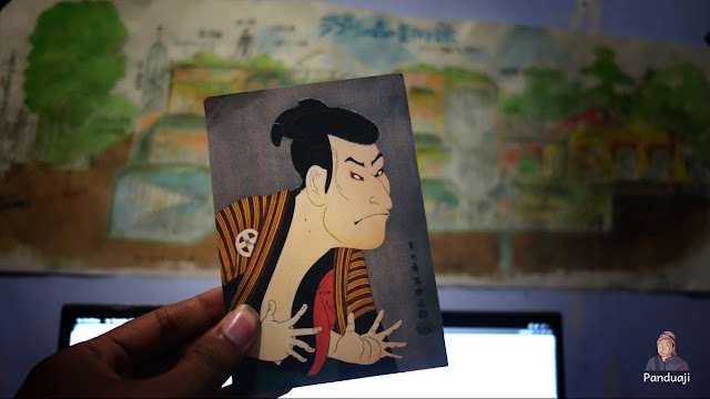 Kartu Pos Kamigata Ukiyo-e