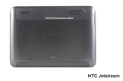 HTC Jetstream tablet