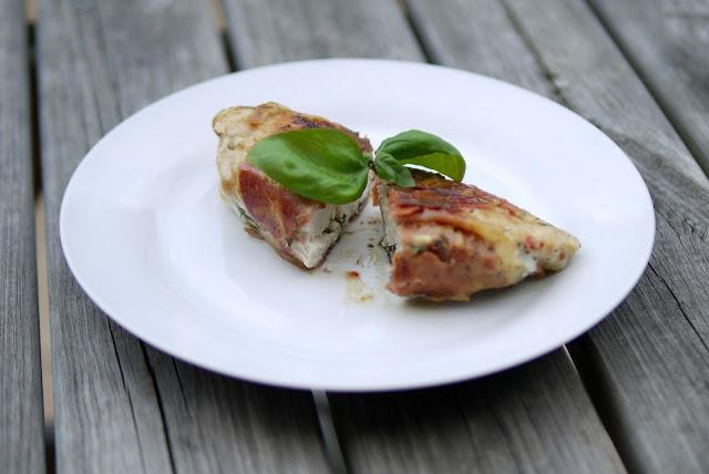 Gefüllte Hähnchenbrust | Rezept | Essen | Kochen