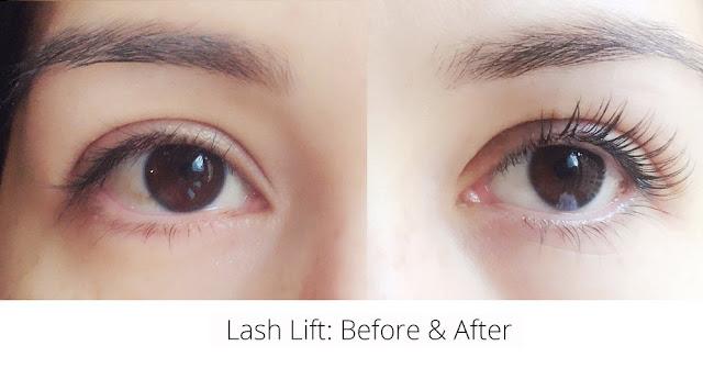 lash lift, lash lifting, eyelash beauty