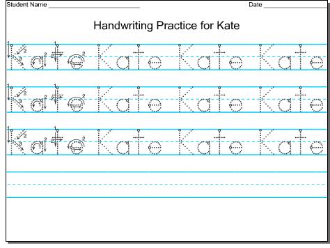 handwriting for preschool hand writing. Black Bedroom Furniture Sets. Home Design Ideas