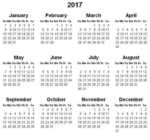 2017 calendar with holidays printable2bcalendar2b20172bii