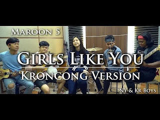 Maroon 5 - Girls Like You (Cover Ny Versi Keroncong)