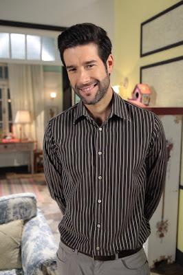 Daniel Del Sarto como Maurício. Crédito da imagen: Divulgação/SBT