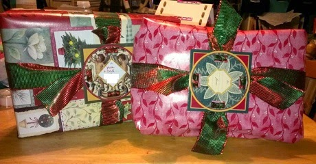 fobbie wrapped presents