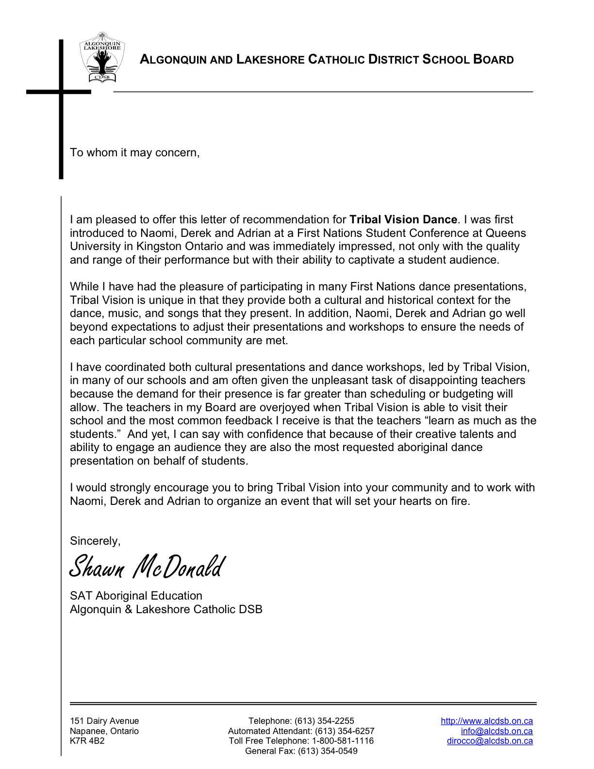 ucsf letter of recommendation