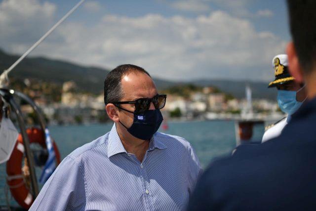 """Γ. Πλακιωτάκης από τις Σπέτσες: """"Πρώτα η ασφάλεια της Δημόσιας Υγείας"""""""