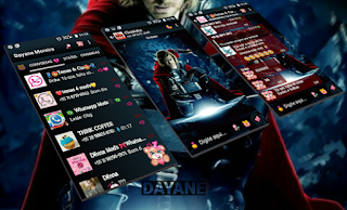 Thor Theme For GBWhatsApp By Dayane
