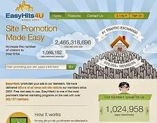 EasyHits4U! Get Paid, Get Traffic