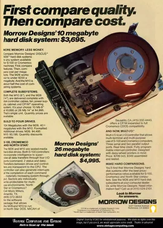 Old days' Computer Advertisements 46